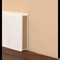 Cubu Flex szegőléc - Fehér - 4cm