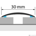 Profi Floor PF 1 Alumínium áthidaló padlóprofil 270cm - Titán