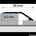 Profi Floor PF 13 Alumínium burkolatváltó padlóprofil 90cm - Ezüst