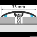 Profi Floor PF 4 Alumínium áthidaló padlóprofil 90cm - Bronz