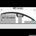 Profi Floor PF 5 Alumínium burkolatváltó padlóprofil 270cm - Ezüst