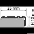 Profi Floor PF 8 Alumínium lépcső profil 270cm - Ezüst