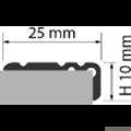 Profi Floor PF 9 Alumínium lépcső profil 90cm - Titán