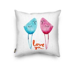 I Love You 1 Díszpárna 45 x 45 cm