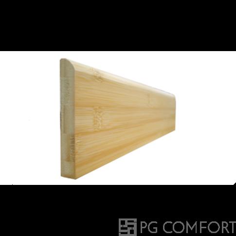 """Bambusz szegélyléc – Horizontális """"Natúr"""" 8cm"""