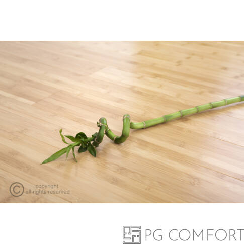 """Bambusz parketta Horizontális """"GŐZÖLT"""" - 15mm tömör bambusz"""