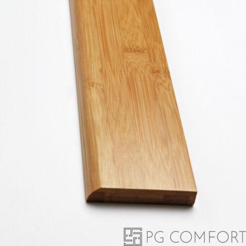 """Bambusz szegélyléc – Horizontális """"Gőzölt"""" 8cm"""
