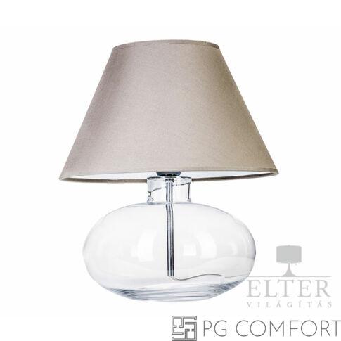 4Concepts Bergen asztali lámpa-Szürke,fehér