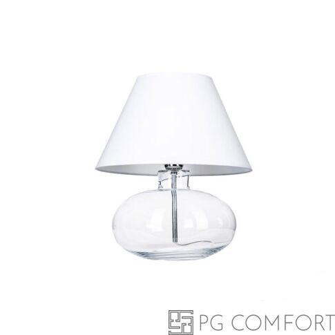 4Concepts Bergen asztali lámpa-Fehér
