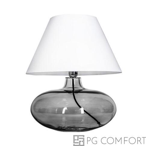 4Concepts Stockholm asztali lámpa-Füstös-fehér