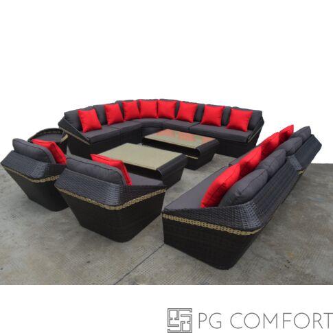 Big Royal - Polyrattan ülőgarnitúra