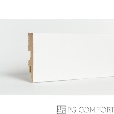Classen - Basic fehér mdf szegőléc - 8cm
