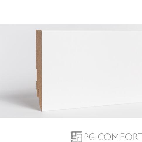 Classen - Basic/Eurus fehér mdf szegőléc - 10cm