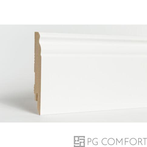 Classen - Naxos fehér mdf szegőléc - 10cm