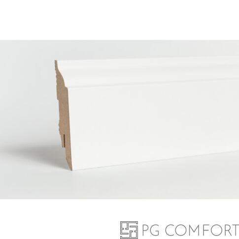 Classen - Rex fehér mdf szegőléc-8 cm
