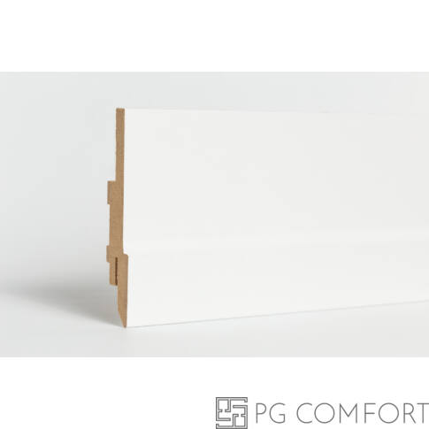 Classen - Classic LED fehér mdf szegőléc