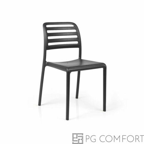 Nardi Costa Bistrot szék- Antracit szürke színben