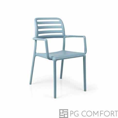 Nardi Costa szék karfával - Égszínkék színben