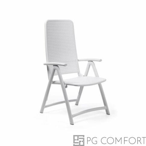 Nardi Darsena szék karfával - Fehér színben