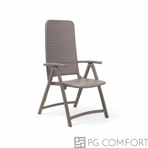 Nardi Darsena szék karfával - Galambszürke színben