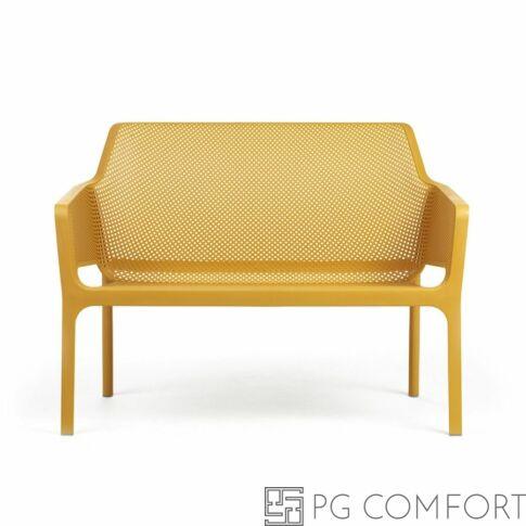 Nardi Net Bech pad - Mustár sárga színben
