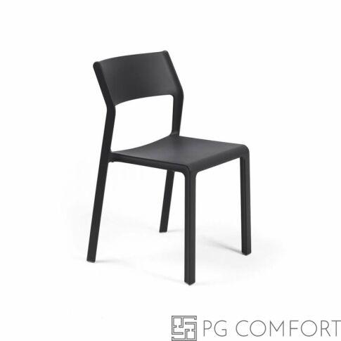 Nardi Trill Bistrot szék - Antracit szürke színben