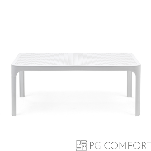 Nardi Net kerti dohányzóasztal - 100 cm - Fehér színben