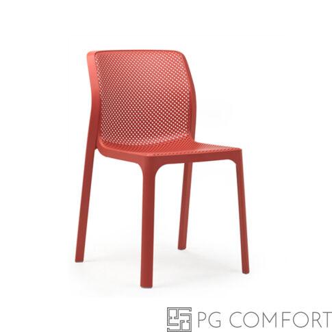 Nardi Bit szék - Korall piros színben