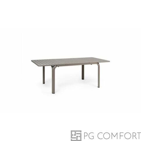 Nardi Alloro Extensible kerti asztal - 140 cm - Galambszürke színben
