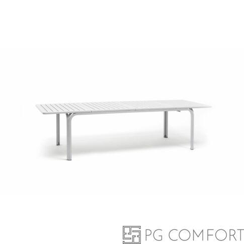 Nardi Alloro Extensible kerti asztal - 210 cm - Fehér színben