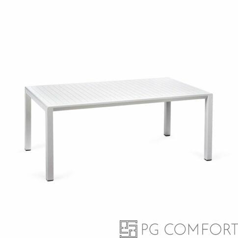 Nardi Aria Tavolino kerti dohányzóasztal - 100 cm - Fehér színben