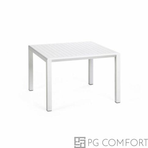 Nardi Aria Tavolino kerti dohányzóasztal - 60 cm - Fehér színben