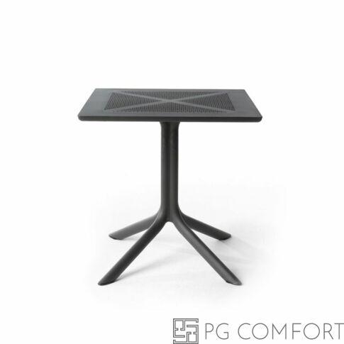 Nardi Clipx kerti asztal - 70 cm - Antracit szürke színben
