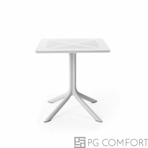 Nardi Clipx kerti asztal - 70 cm - Fehér színben