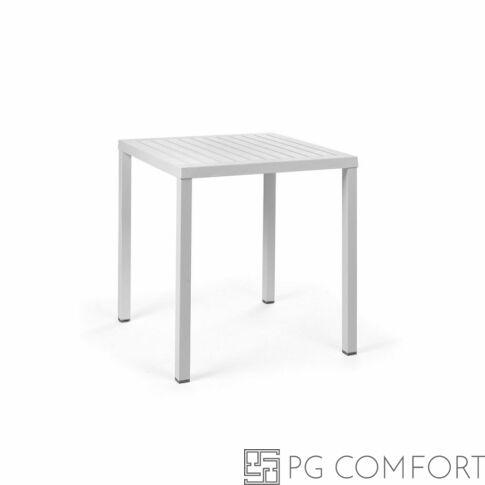 Nardi  Cube kerti asztal - 70 cm - Fehér színben