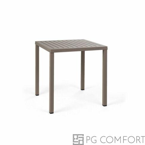 Nardi  Cube kerti asztal - 70 cm - Galambszürke színben
