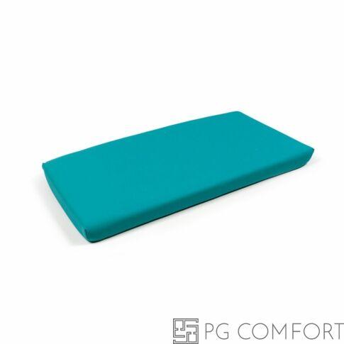 Nardi Cuscino Net Bench kiegészítő padpárna - 7 cm Szardínia kék színű