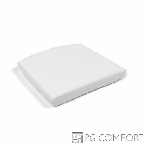 Nardi Cuscino Net Relax kiegészítő habpárna - 7,5 cm - Fehér színű