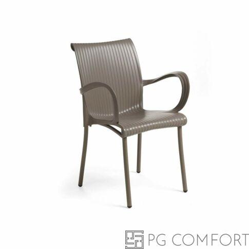 Nardi Dama szék - Galambszürke színben