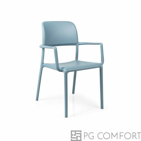 Nardi Riva szék karfával - Égszínkék színben