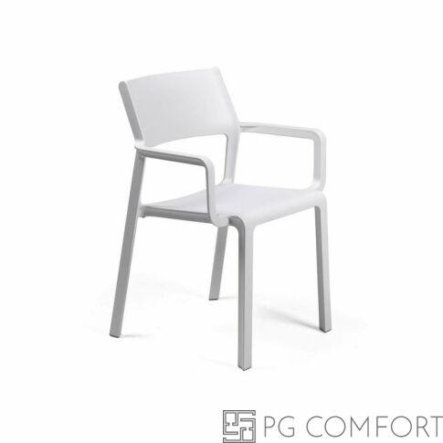 Nardi Trill Armchair szék karfával - Fehér színben