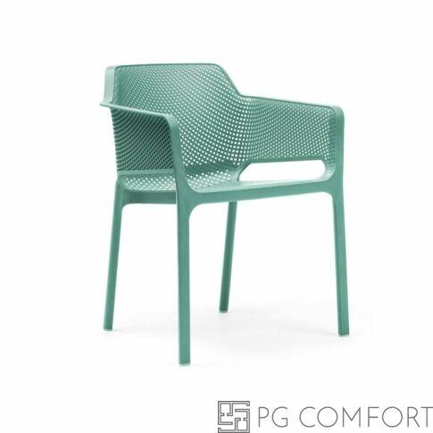 Nardi Net szék karfával - Fűzfa zöld színben