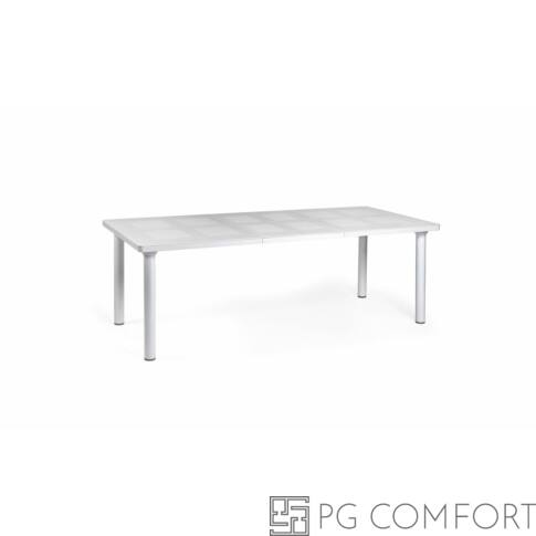Nardi Libeccio kerti asztal - Fehér színben