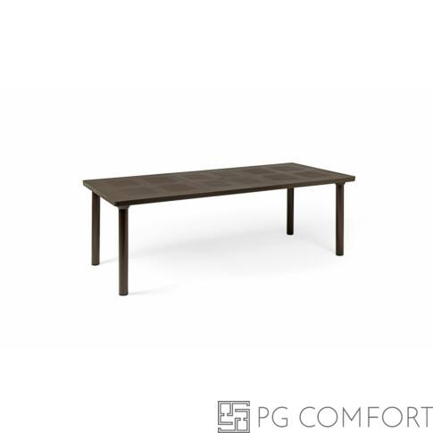 Nardi Libeccio kerti asztal - Kávé barna színben