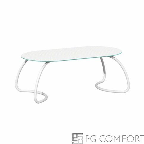 Nardi Loto Dinner Étkezőasztal - 190 cm - Fehér színben