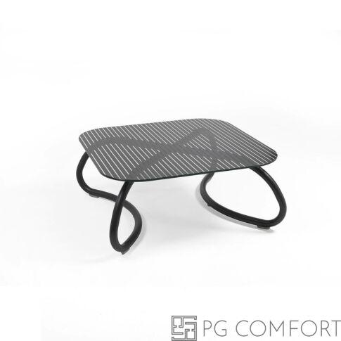 Nardi Loto Relax Asztal - 95 cm - Antracit szürke színben