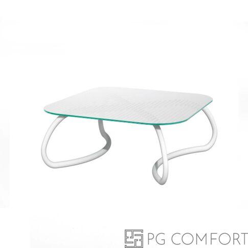 Nardi Loto Relax Asztal - 95 cm - Fehér színben