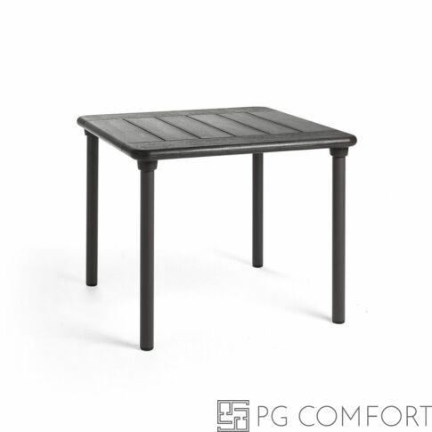 Nardi Maestrale kerti asztal - 90 cm - Antracit szürke színben
