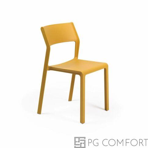 Nardi Trill Bistrot szék - Mustár sárga színben