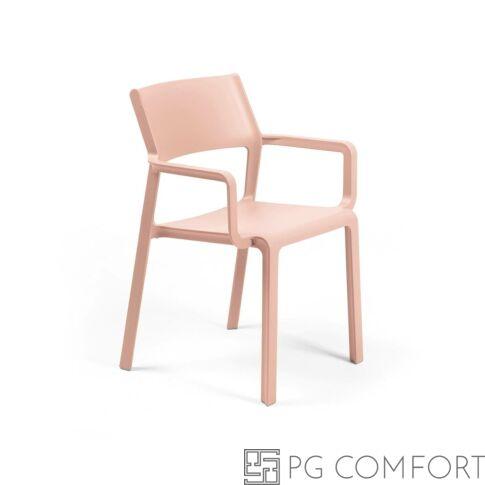 Nardi Trill Armchair szék karfával - Rózsacsokor színben